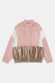Colorblock Sweatshirt at Zara