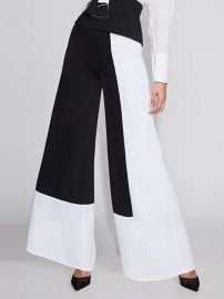 Colorblock Wide Leg Pants by Gabrielle Union at New York & Company