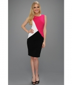 Colorblock dress by Calvin Klein at 6pm