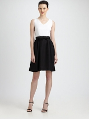 Colorblock dress by Lotusgrace at Saks Fifth Avenue