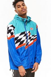 Colorblock jacket by Dope at Dope