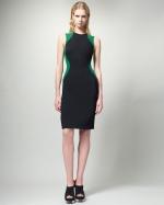 Colorblock sheath dress by Stella McCartney at Neiman Marcus