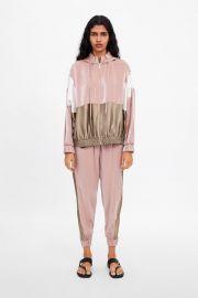 Colorblock sweatshirt by Zara at Zara