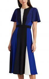 Colorblocked Silk Dress at Barneys