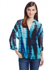 Colorful streaks top by TWO by Vince Camuto at Amazon