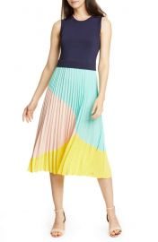 Colour by Numbers Ophelea Accordion Pleat Dress at Nordstrom