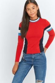 Colourblock Ski Jumper by Cooperative at Urban Outfitters