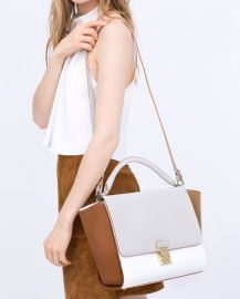 Combined City Bag with Buckle at Zara