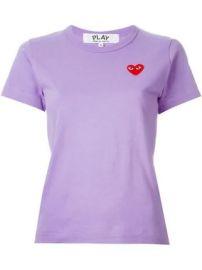 Comme Des Gar  ons Play heart logo T-shirt heart logo T-shirt at Farfetch