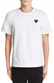 Comme des Gar  ons PLAY Logo Slim Fit Graphic T-Shirt   Nordstrom at Nordstrom
