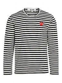 Comme des Garcons Play - Mini Heart Long-Sleeve Cotton Tee at Saks Fifth Avenue