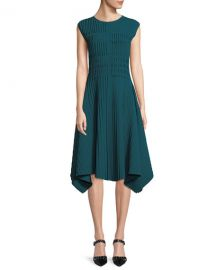 Compact Double Knit Asymmetric Sleeveless Dress by Narciso Rodriguez at Bergdorf Goodman