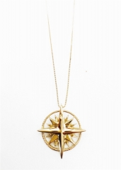 Compass Necklace at Janesko