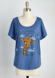 Con-neck-ting Flight Top at ModCloth