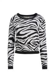 Connie Crystal Zebra Pullover at Orchard Mile