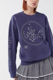 Constellation Pullover Sweatshirt by Project Social T  at Urban Outfitters