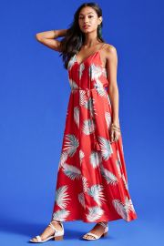 Contemporary Palm Leaf Dress at Forever 21