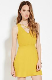 Contemporary Strappy-Front Dress  at Forever 21