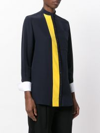 Contrast Stripe Shirt by Victoria Victoria Beckham at Farfetch
