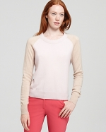 Contrast sleeve sweater from Bloomingdales at Bloomingdales