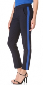 Contrast stripe pants by Vince at Shopbop
