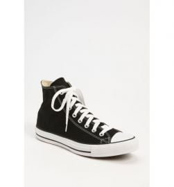 Converse Chuck Taylor   High Top Sneaker  black at Nordstrom