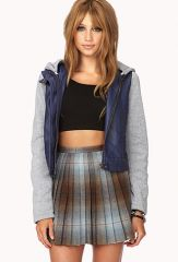 Cool Knit trimmed jacket at Forever 21