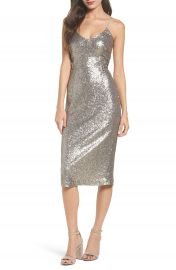 Cooper St Midnight Lucky Sequin Dress at Nordstrom