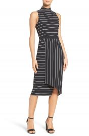Cooper St Stripe Midi Dress at Nordstrom