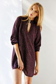 Cooperative Keyhole Mini Dress at Urban Outfitters