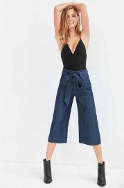 Cooperative Naomi Cropped Tie-Waist Pant at Urban Outfitters
