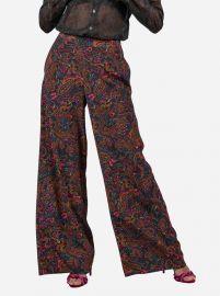 Cora Silk Pants at Robert Graham