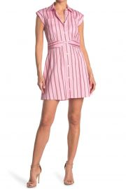 Cora Stripe Shirt Dress at Nordstrom Rack