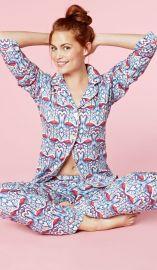 Coral Flamingos Pajama Set at BedHead