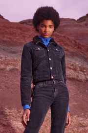 Cord  Borg Shrunken Western Jacket by BDG at Urban Outfitters at Urban Outfitters