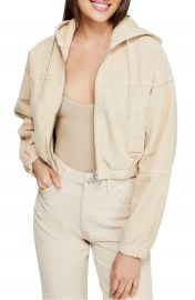 Corduroy Crop Hooded Jacket by BDG Urban Outfitters at Nordstrom