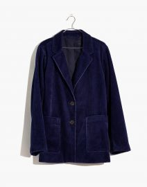 Corduroy Dorset Blazer by Madewell at Madewell