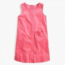 Corduroy Dress with Heart Pocket by J. Crew at J. Crew