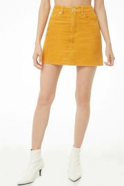 Corduroy Mini Skirt at Forever 21