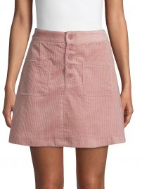 Corduroy Mini Skirt at Saks Off 5th