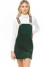 Corduroy Overall Dress at Forever 21