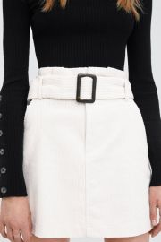 Corduroy Skirt at Zara