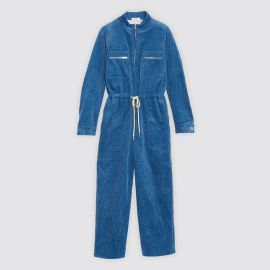 Corduroy jumpsuit  by Sandro at Sandro