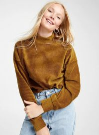 Corduroy mock-neck sweater by Twik at Simons