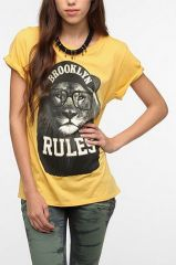 Corner Shop Brooklyn Rules Tee at Urban Outfitters