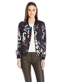 Cornucopia Drape Bomber by French Connection at Amazon