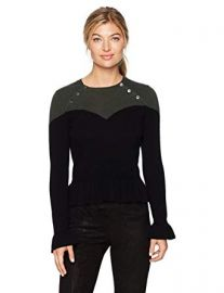Corset Sweater by Minnie Rose at Amazon