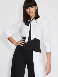 Corset Wrap Blouse by Gabrielle Union at New York & Company