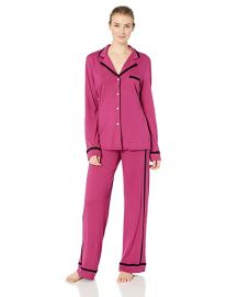 Cosabella Amore Ls Top Pant Pj Set at Amazon