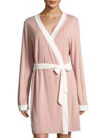 Cosabella - Bella Bridal Long Sleeve Pima Cotton Robe at Saks Fifth Avenue